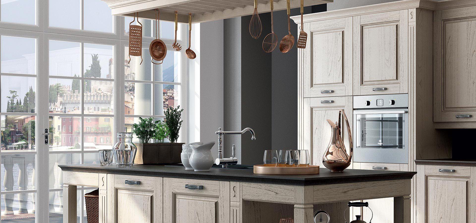 Cucine a verona simple cucina country in legno su misura - Cucine su misura modena ...
